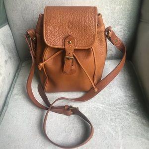 Vintage Polo Ralph Lauren Brown Leather Bag